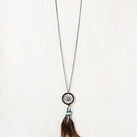 Feather Dream Catcher Necklace at Free People Clothing Boutique