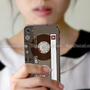 Cassette Tape iPhone 4 Skin  Style D 
