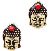 *MKL Accessories The Little Budda Peace Studs : Karmaloop.com - Global Concrete Culture