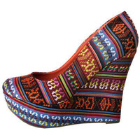 GYPSY WARRIOR - Navajo Platform Wedge