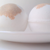 Toasted Marshmallow Bath Bomb by ZEN-ful, Bath Bombs, Bath Fizzy, Gift Ideas, Gifts For Her, Bath Bombs 5.5 oz.