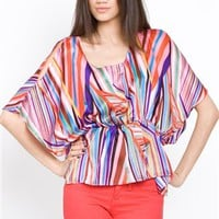 Line and Dot Prism Splash Top- Line and Dot Tops- Line and Dot- $89.99