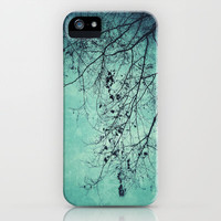 Winter tree iPhone & iPod Case by Angela Bruno