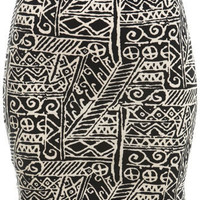 Petites Monochrome Skirt - Miss Selfridge US