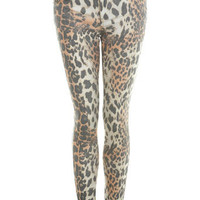 Snow Leopard Jeans - Jeans & Denim - Apparel - Miss Selfridge US