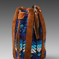 STELA 9 Zacapa Cantina Bag in Blue Bird from REVOLVEclothing.com