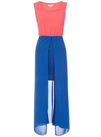 Ocean maxi split hem skirt - Dresses - Clothing - Dorothy Perkins United States