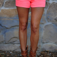 RESTOCK Glow In The Dark Shorts: Neon Pink | Hope's