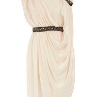 Cream grecian dress - Party Dresses - Dresses - Dorothy Perkins United States