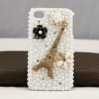 iphone 5 case iphone 4 case rhinestone iphone 4 case 3d iphone case eiffel tower iphone case cases for iphone 4   iphone 4s fowers cases