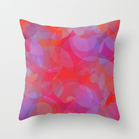 passion flower Throw Pillow by Marianna Tankelevich
