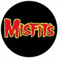 The Misfits Buttons - Red Logo