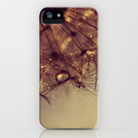 droplets of gold iPhone & iPod Case by ingz