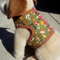 Willow Forest Organic Cotton Super Soft Harness Vest SIZE MEDIUM | VeryVintage - Pets on ArtFire