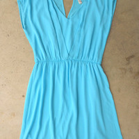 Swept in Seafoam Dress [3799] - $36.00 : Vintage Inspired Clothing &amp; Affordable Fall Frocks, deloom | Modern. Vintage. Crafted.