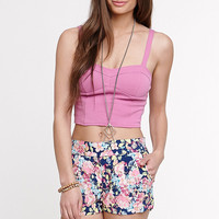 Kirra Back Zip Cut Out Bustier Tank at PacSun.com