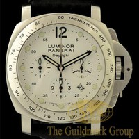 Excellent Stainless Steel Panerai Luminor Daylight Men's Watch PAM 251