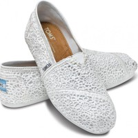 White Crochet Women&#x27;s Classics