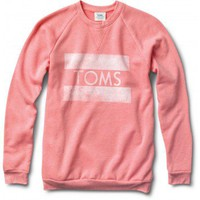 Women&#x27;s Heather Coral Classic Crew