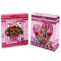 DDI Pop Up Flower Gift Bag 12.5 in.- Case of 72