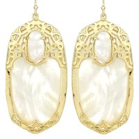 Deva Statement Earrings in Ivory - Kendra Scott Jewelry
