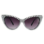 Jeepers Peepers Isabella Cat Eye With Faux Pearl Detail Sunglasses at asos.com