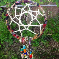 Handcrafted Beaded Native American Dream Catcher