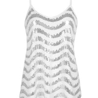 BKE Sequin Tank Top - Women's Shirts/Tops | Buckle