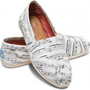 Music Notes Women&#x27;s Classics | TOMS.com