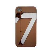 Seven - iPhone 4 Case from Zazzle.com