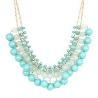 Turquoise Bib Necklace - Buy From ShopDesignSpark.com