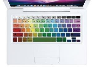 Rainbow Keyboard Skin Decal Sticker for Macbook