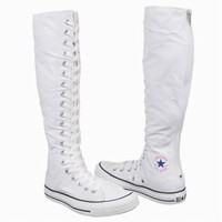 Athletics Converse Women's All Star XX-HI White Shoes.com