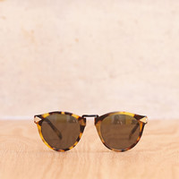 Helter Skelter Sunglasses in Tortoise