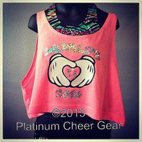 Worlds 2013 Crop Top - Platinum Cheer Gear