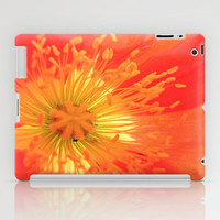 Poppy Love iPad Case by Shawn Terry King