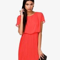 Pleated Blouson Dress | FOREVER 21 - 2000042090