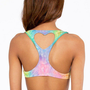 Lolli Swim Slow Ride Heart Cut Out Bikini Top $68