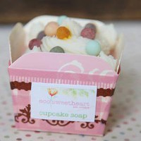 soap and suds eco-friendly soap in berry sprinkle cupcake - &amp;#36;9.99 : ShopRuche.com, Vintage Inspired Clothing, Affordable Clothes, Eco friendly Fashion