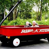 Giant Little Red Wagon ? Funny, Bizarre, Amazing Pictures & Videos