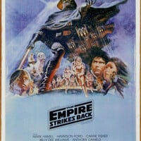 Star Wars - The Empire Strikes Back Tin Sign at AllPosters.com