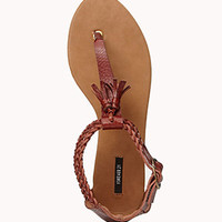 Tasseled Thong Sandals | FOREVER 21 - 2049089244