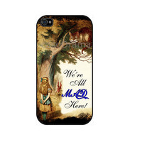 Alice in Wonderland iPhone 4 iPhone 4 case iPhone 4S by caseOrama