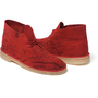 Supreme: Clarks®/Supreme Map Suede Desert Boot - Red