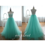 Elegant chiffon floor-length dress from CuteDresses