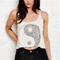 Title Unknown Symbol Cropped Tank at Urban Outfitters