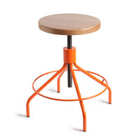Sputnik Stool - Orange/NaturalEnvironment