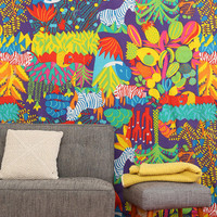 Magical Thinking Wild Thing Glow-In-The-Dark Tapestry