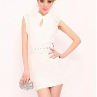 Retro Sleeveless Dress FF014