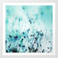 Blue Art Print by Mareike Böhmer